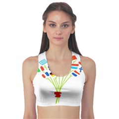 Flag Bouquet Sports Bra