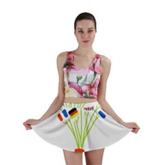 Flag Bouquet Mini Skirts