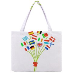 Flag Bouquet Tiny Tote Bags