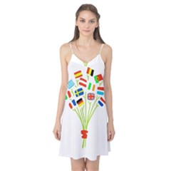 Flag Bouquet Camis Nightgown
