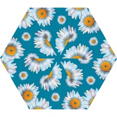 Floating Daisies Mini Folding Umbrellas