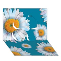 Floating Daisies Clover 3d Greeting Card (7x5)