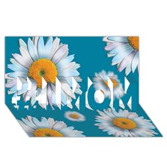 Floating Daisies #1 Mom 3d Greeting Cards (8x4)
