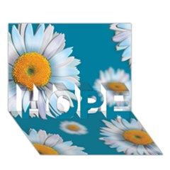 Floating Daisies HOPE 3D Greeting Card (7x5)