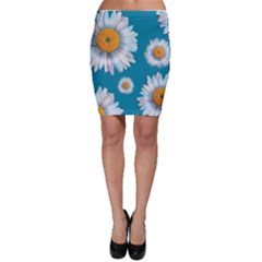 Floating Daisies Bodycon Skirts