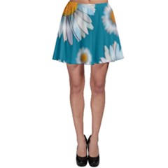 Floating Daisies Skater Skirts