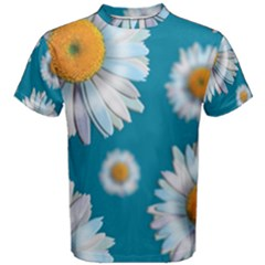 Floating Daisies Men s Cotton Tees