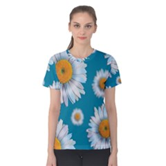 Floating Daisies Women s Cotton Tees