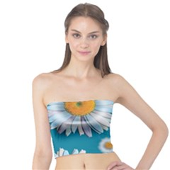 Floating Daisies Women s Tube Tops
