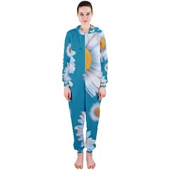 Floating Daisies Hooded Jumpsuit (Ladies)