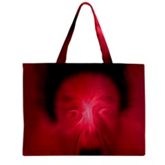 Scream Zipper Tiny Tote Bags