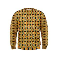 Symbols Pattern Boys  Sweatshirts