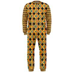 Symbols Pattern OnePiece Jumpsuit (Men)