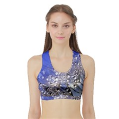 Dandelion 2015 0704 Women s Sports Bra With Border