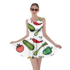 Vegetables 01 Skater Dresses