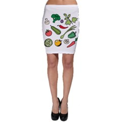 Vegetables 01 Bodycon Skirts