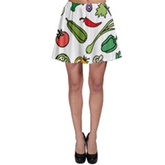 Vegetables 01 Skater Skirts