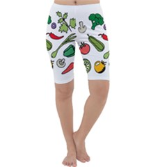 Vegetables 01 Cropped Leggings