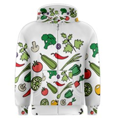 Vegetables 01 Men s Zipper Hoodies