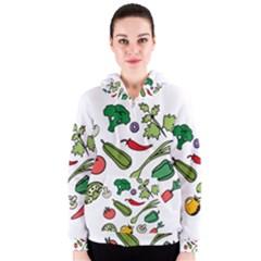 Vegetables 01 Women s Zipper Hoodies
