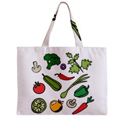 Vegetables 01 Zipper Tiny Tote Bags