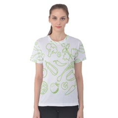 Green Vegetables Women s Cotton Tees
