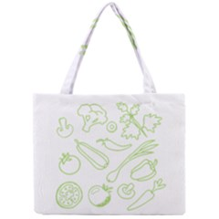 Green Vegetables Tiny Tote Bags