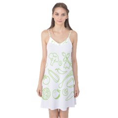 Green Vegetables Camis Nightgown
