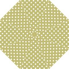 Lime Green Polka Dots Golf Umbrellas