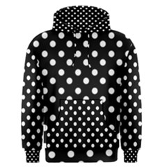 Black And White Polka Dots Men s Pullover Hoodies