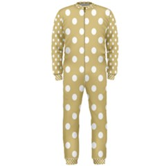 Mint Polka And White Polka Dots OnePiece Jumpsuit (Men)