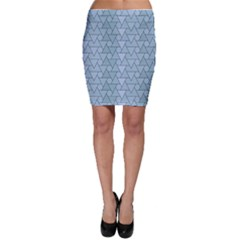 Geo Fun 7 Light Blue Bodycon Skirts