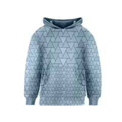 Geo Fun 7 Light Blue Kid s Pullover Hoodies