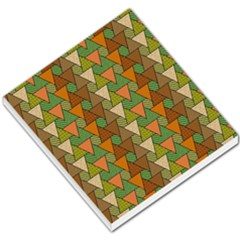 Geo Fun 7 Warm Autumn  Small Memo Pads