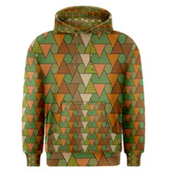 Geo Fun 7 Warm Autumn  Men s Pullover Hoodies