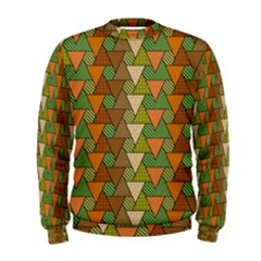 Geo Fun 7 Warm Autumn  Men s Sweatshirts
