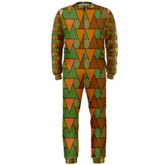 Geo Fun 7 Warm Autumn  OnePiece Jumpsuit (Men)