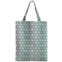 Geo Fun 7 Zipper Classic Tote Bags