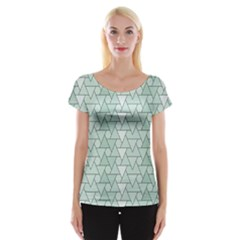 Geo Fun 7 Women s Cap Sleeve Top