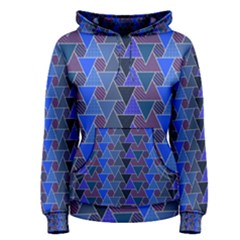 Geo Fun 7 Inky Blue Women s Pullover Hoodies