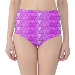 Geo Fun 7 High-Waist Bikini Bottoms