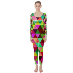 Geo Fun 07 Long Sleeve Catsuit