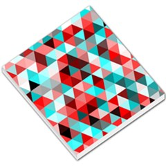 Geo Fun 07 Red Small Memo Pads