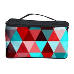 Geo Fun 07 Red Cosmetic Storage Cases