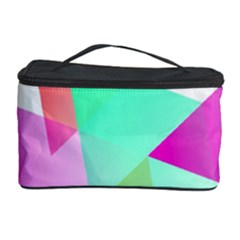 Geometric 03 Pink Cosmetic Storage Cases