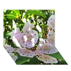 Amazing Garden Flowers 35 Love 3d Greeting Card (7x5)