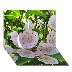 Amazing Garden Flowers 35 Apple 3D Greeting Card (7x5)