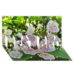 Amazing Garden Flowers 35 BEST BRO 3D Greeting Card (8x4)