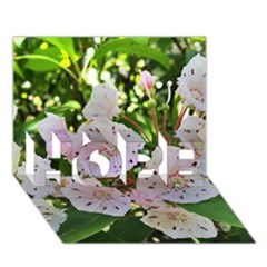 Amazing Garden Flowers 35 Hope 3d Greeting Card (7x5)