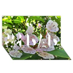 Amazing Garden Flowers 35 #1 DAD 3D Greeting Card (8x4)